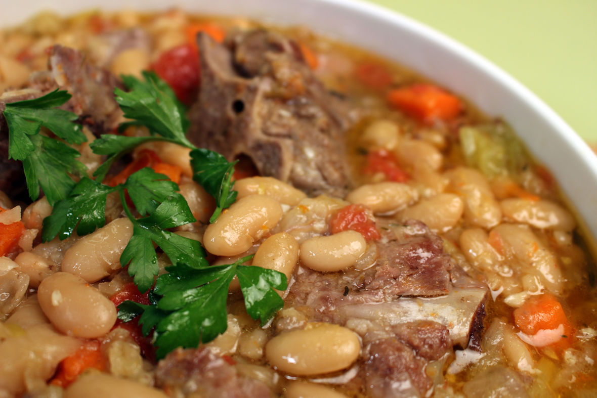 Pork Stew Recipes  Pork Neck and Bean Stew