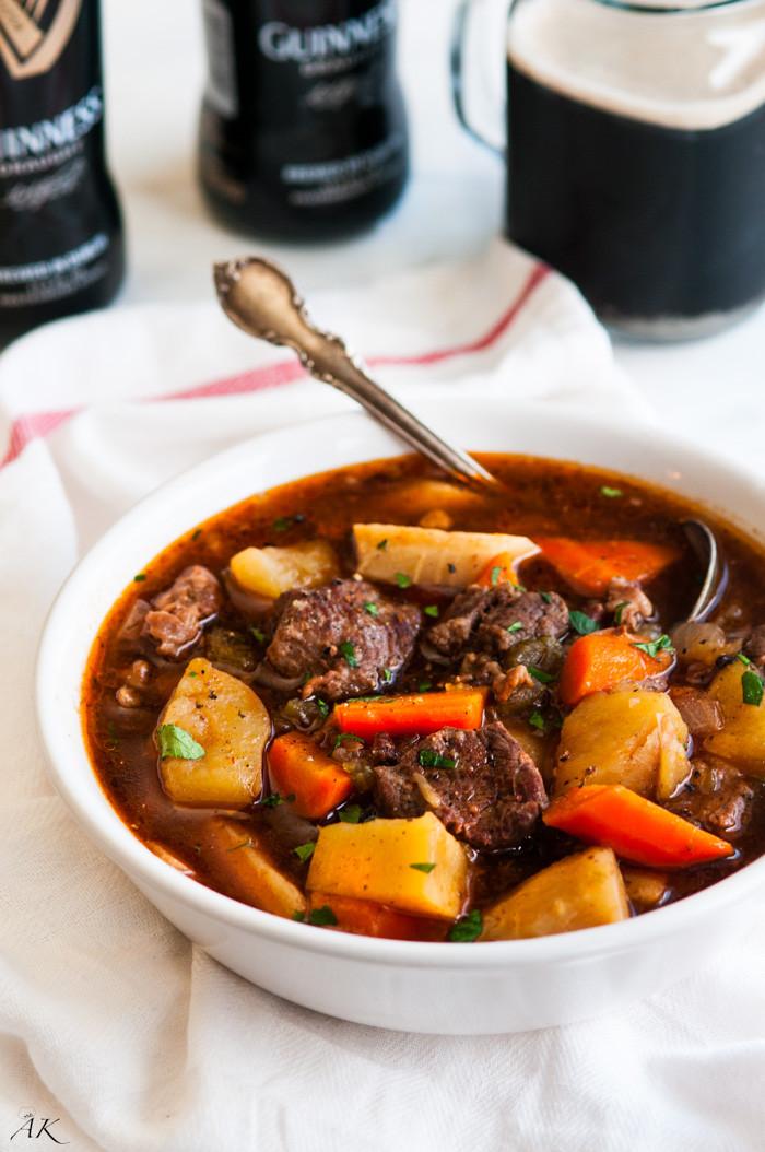 Pork Stew Slow Cooker  Slow Cooker Guinness Beef Stew Aberdeen s Kitchen
