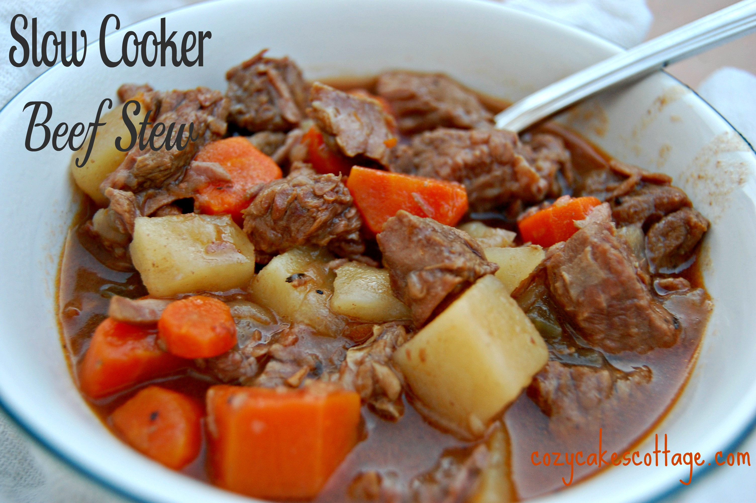 Pork Stew Slow Cooker  Slow Cooker Back to Basics Beef Stew