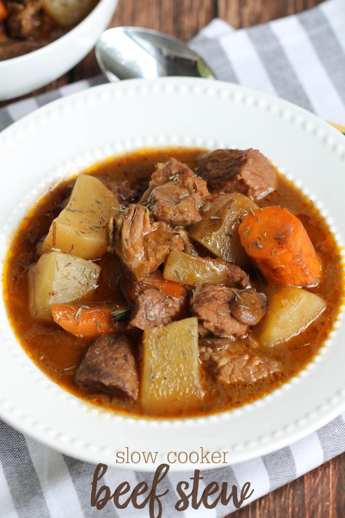 Pork Stew Slow Cooker  Slow Cooker Beef Stew