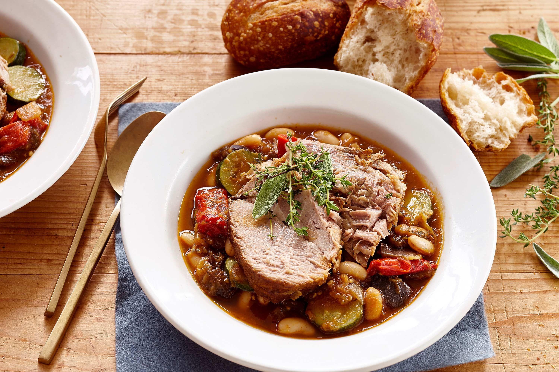 Pork Stew Slow Cooker  mediterranean stew slow cooker