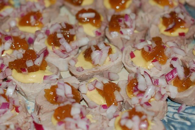 Pork Tenderloin Appetizers  Pork tenderloin appetizer