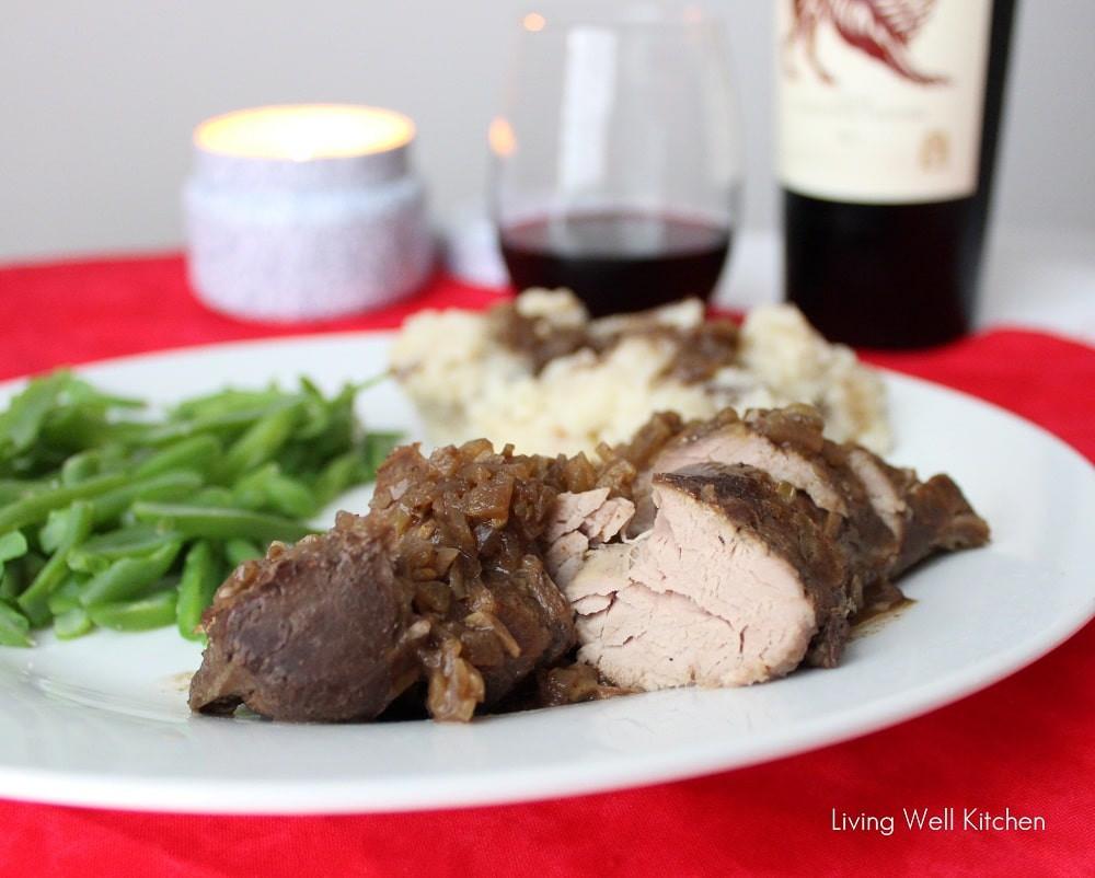 Pork Tenderloin Crockpot  Easy Crock Pot Pork Tenderloin