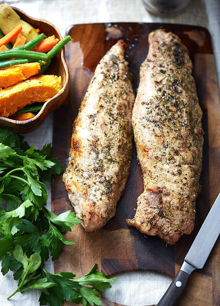 Pork Tenderloin In Oven  Easy Baked Pork Tenderloin i FOOD Blogger