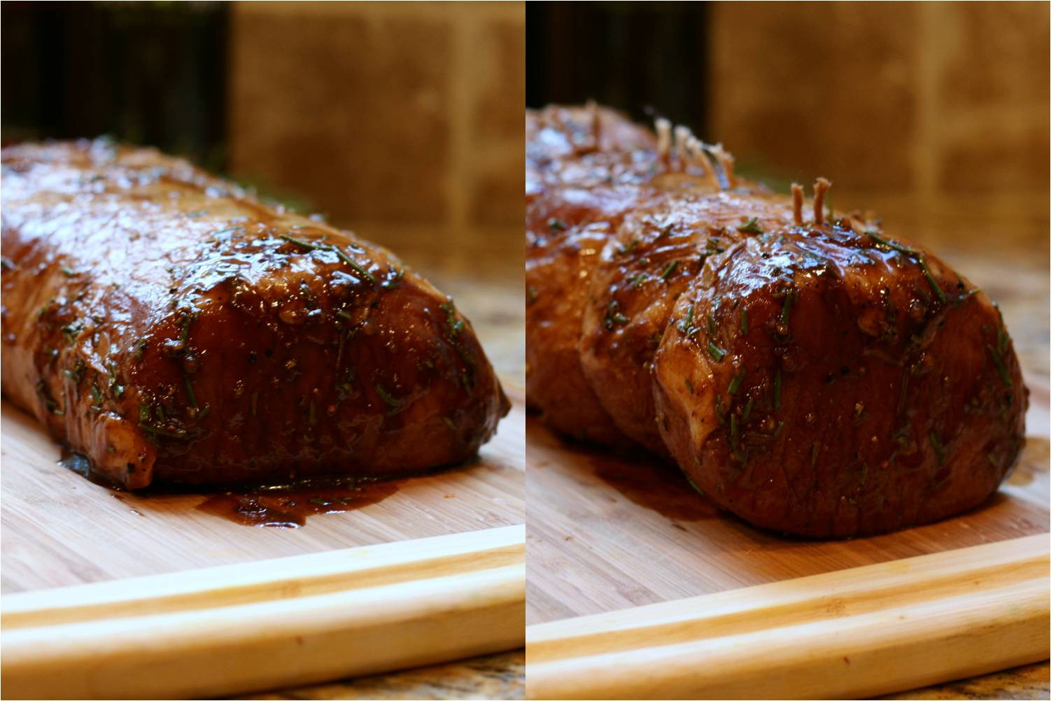 Pork Tenderloin In Oven  Olive This – Recipe Fig Balsamic and Rosemary Roasted