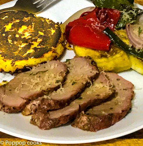 Pork Tenderloin Recipes In Oven  Oven Baked Pork Tenderloin and Italian Ve ables Poppop