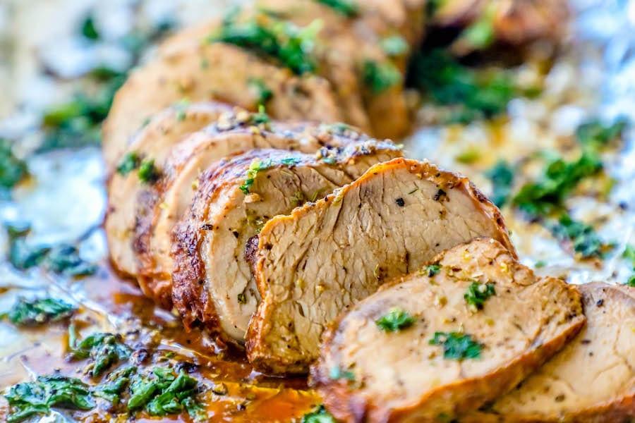 Pork Tenderloin Recipes In Oven  The Best Baked Garlic Pork Tenderloin Recipe Ever