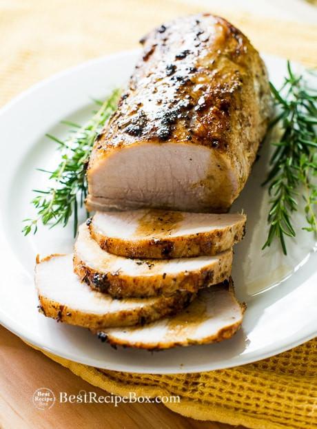 Pork Tenderloin Roast  boneless pork loin recipes oven