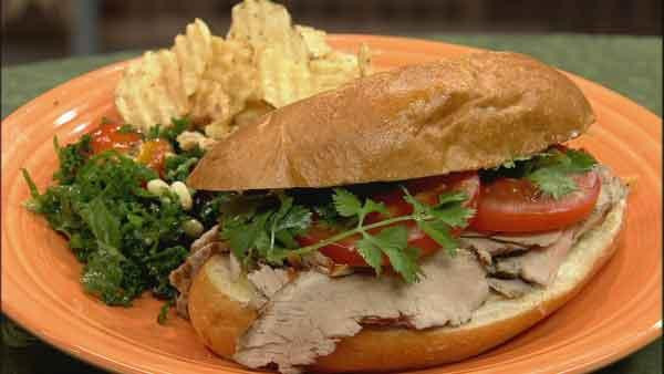 Pork Tenderloin Sandwich Recipe  Pork Tenderloin Sandwich Let s Dish