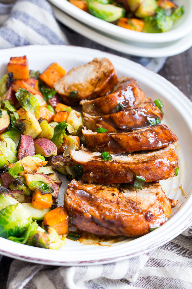 Pork Tenderloin Sides  Paleo Pork Tenderloin with Teriyaki Sauce Whole30