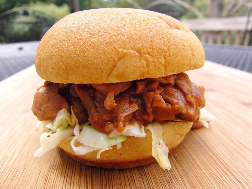 Pork Tenderloin Sliders  Barbecue Pork Tenderloin Sliders with Tangy Cole Slaw