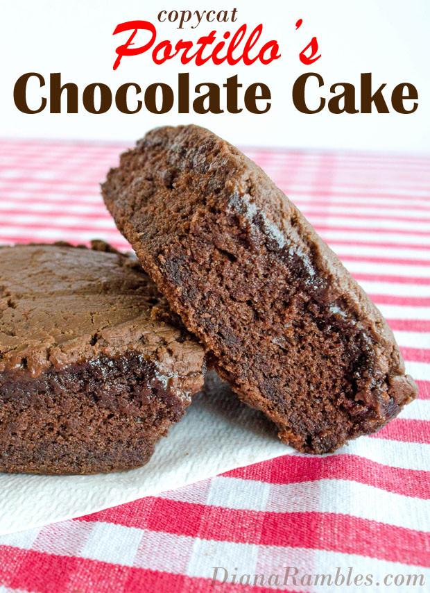 Portillos Chocolate Cake Recipe  Portillo s Chocolate Cake Knock f Dessert Recipe