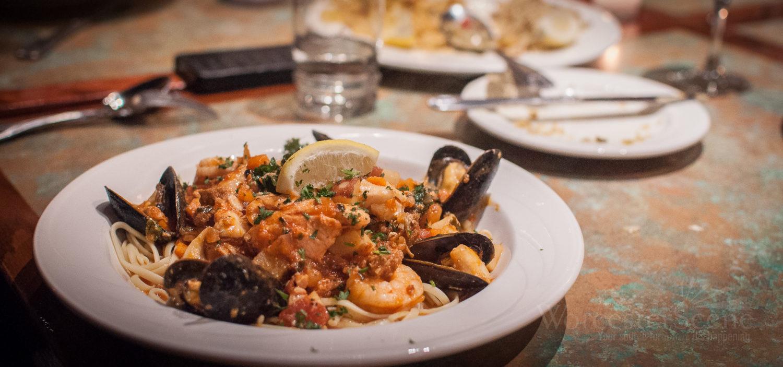 Portuguese Seafood Stew  Portuguese Seafood Stew Mass Foo s