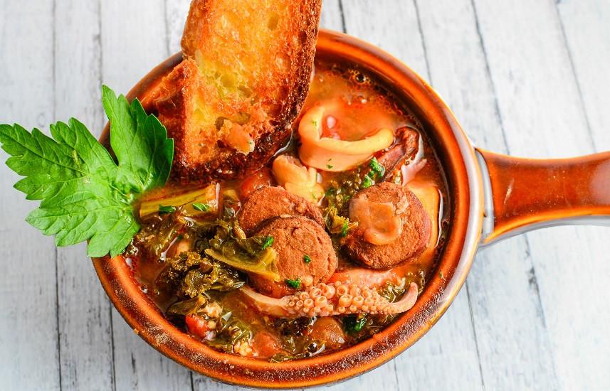 Portuguese Seafood Stew  Portuguese Seafood Stew Food e File