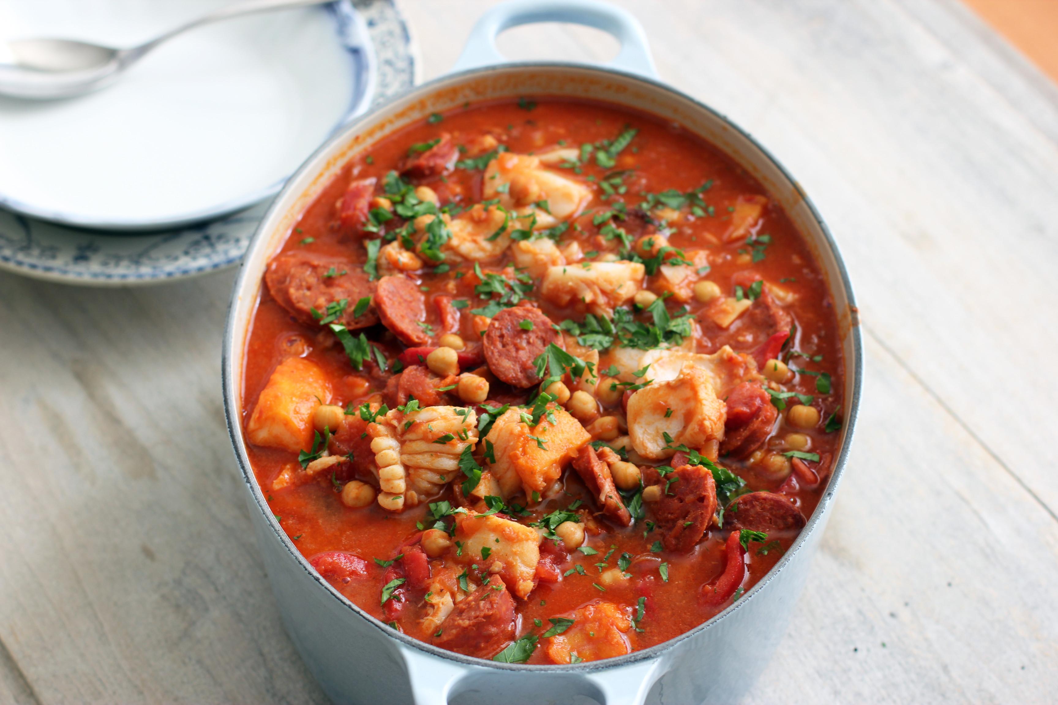 Portuguese Seafood Stew  Portuguese Fish Stew