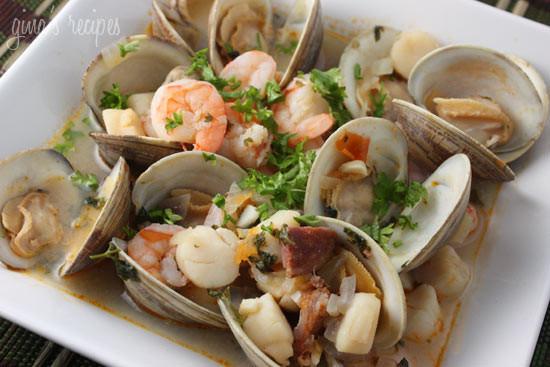 Portuguese Seafood Stew  Portuguese Seafood Stew