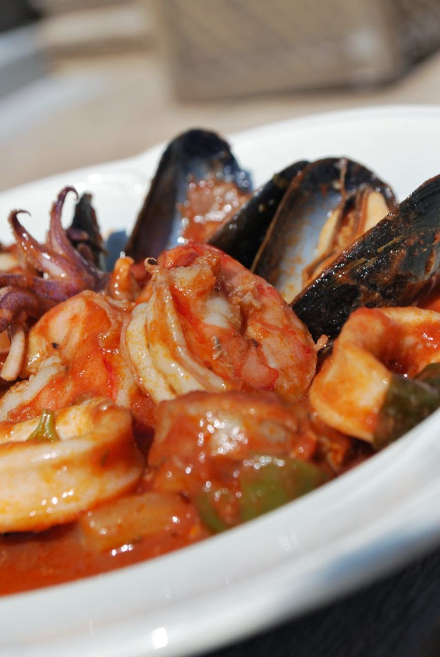 Portuguese Seafood Stew  Scrumpdillyicious Portuguese Seafood Stew Caldeirada de