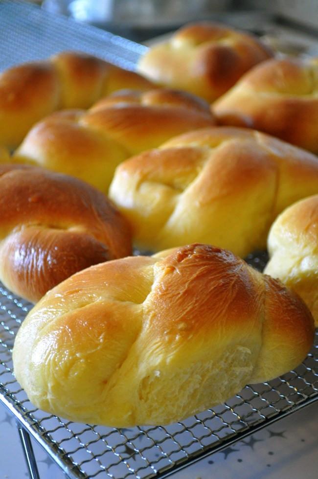 Portuguese Sweet Bread Recipe  My Grandmother's Portuguese Sweet Bread by Farmgirl