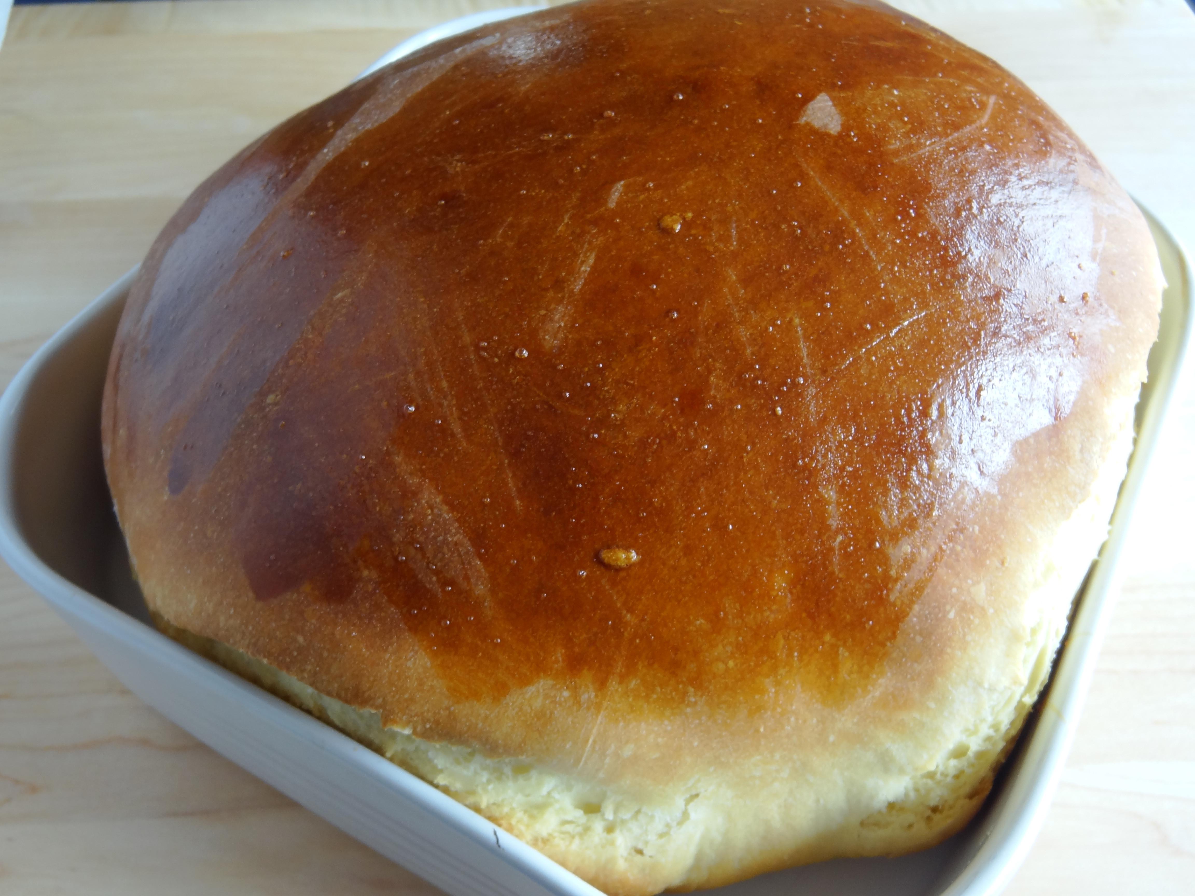 Portuguese Sweet Bread Recipe  Pao Doce
