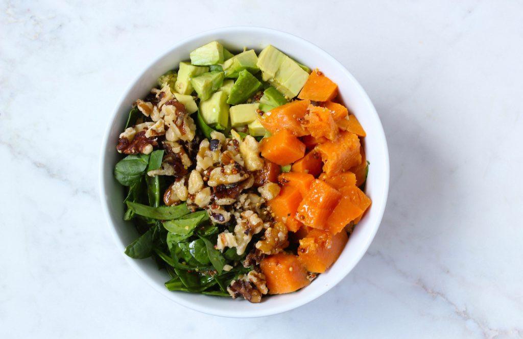 Potato Bowl 2018  Sweet Potato Spinach Buddha Bowl Meg s Meal Planning