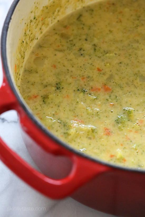Potato Broccoli Soup  Broccoli Cheese and Potato Soup Recipe