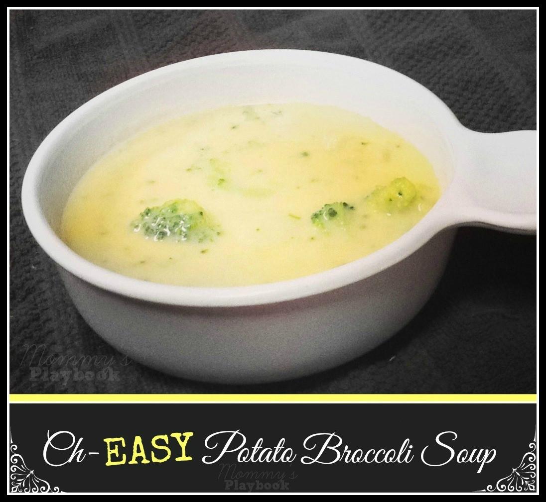Potato Broccoli Soup  Ch Easy Potato Broccoli Soup Mommy s Playbook
