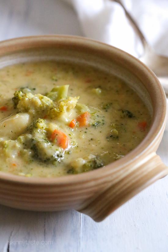 Potato Broccoli Soup  Broccoli Cheese and Potato Soup