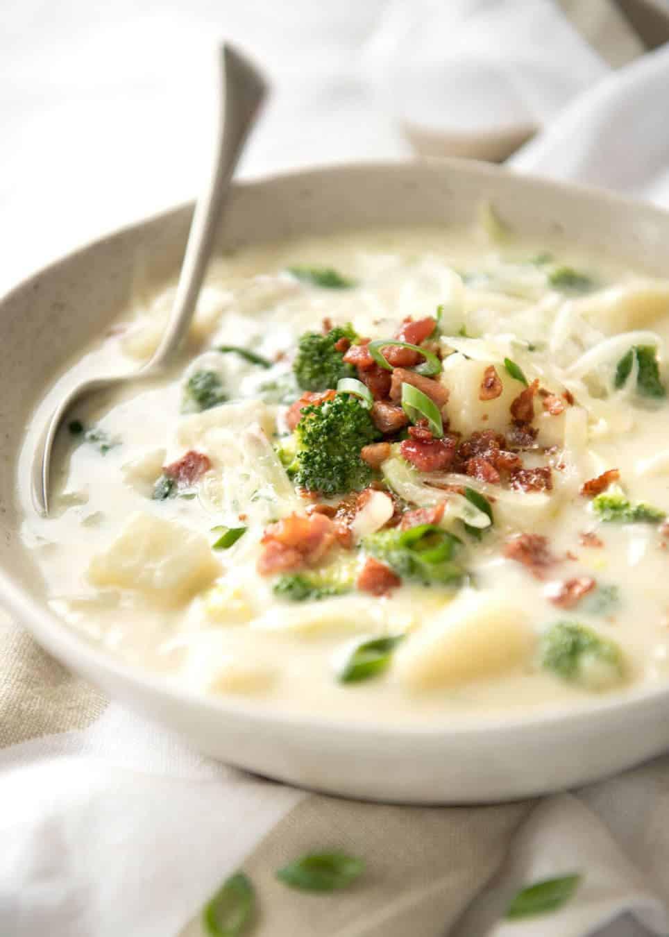Potato Broccoli Soup  Broccoli and Potato Soup