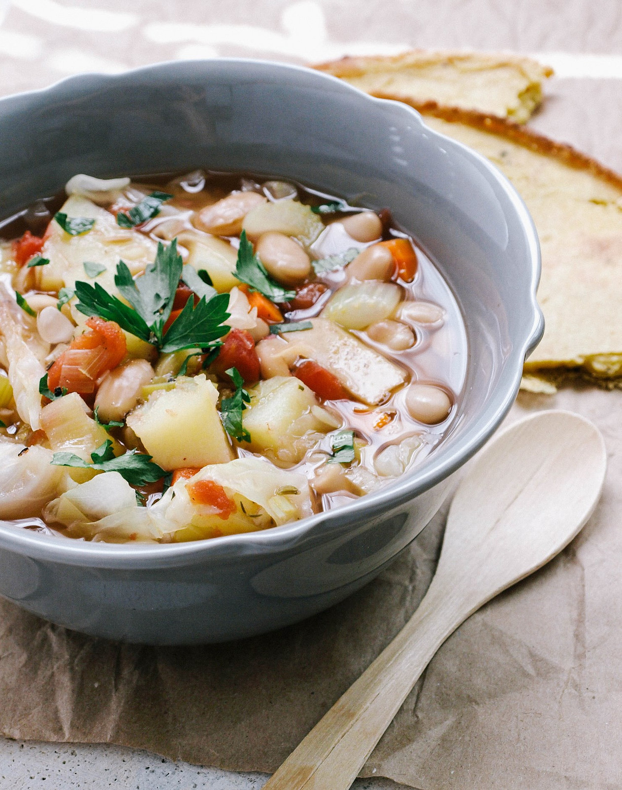 Potato Cabbage Soup  sweet potato cabbage soup