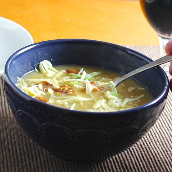 Potato Cabbage Soup  irish potato cabbage soup