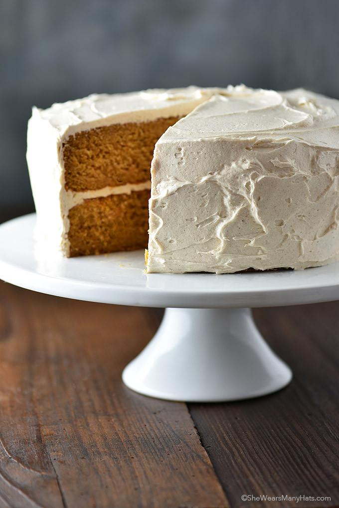 Potato Cake Recipe  Cinnamon Honey Buttercream Frosting Recipe