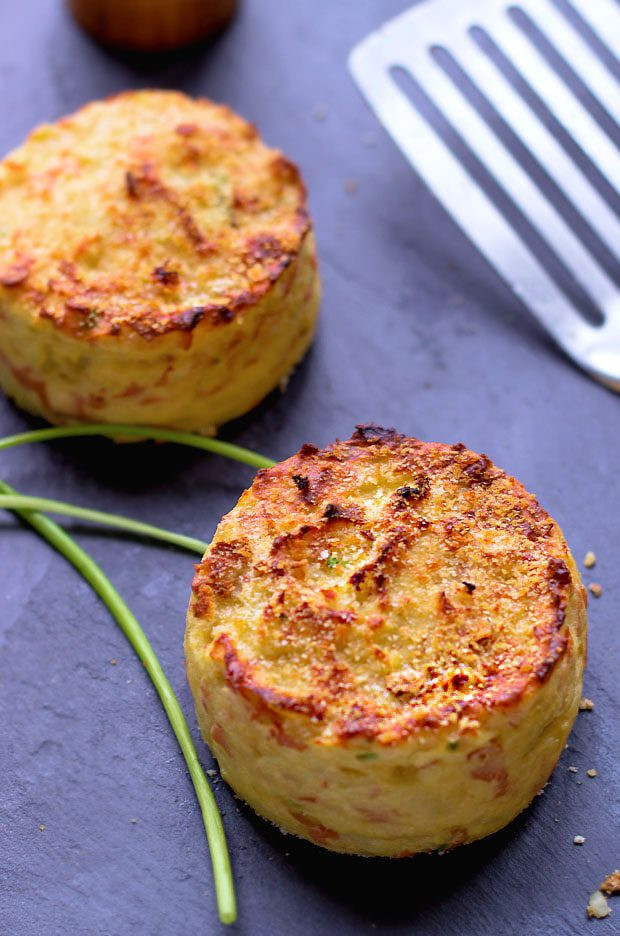 Potato Cake Recipe  Oven Baked Mashed Potato Cakes — Eatwell101