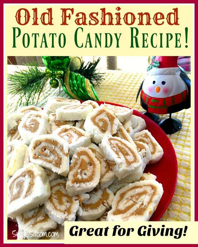 Potato Candy Recipe  Old Fashioned Potato Candy Easy Recipe