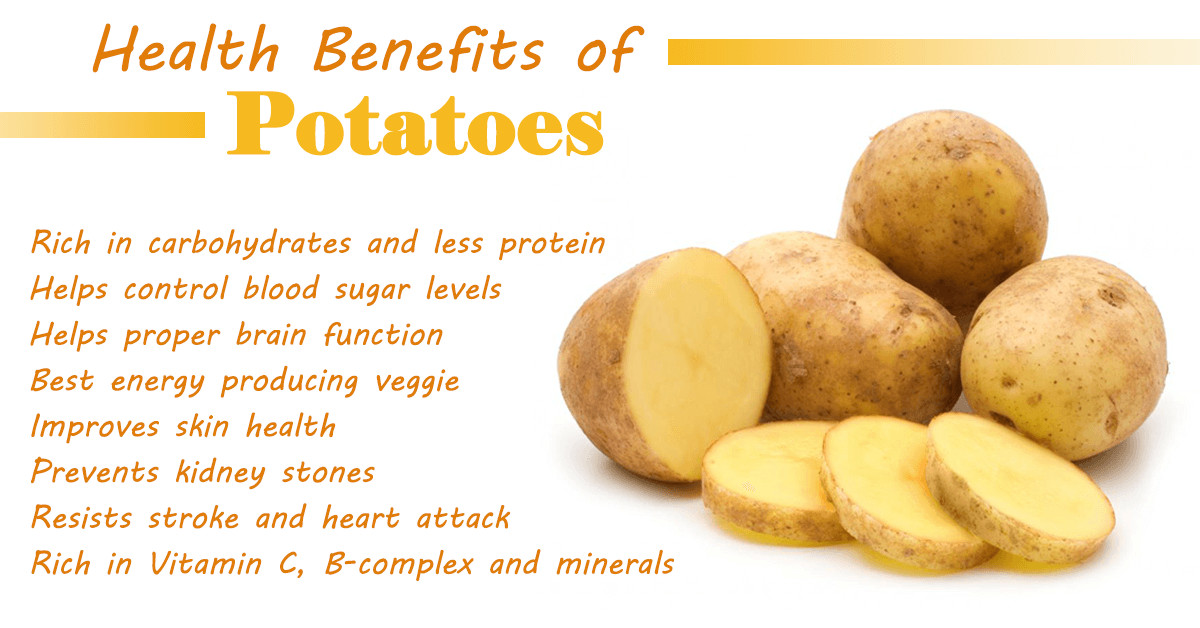 Potato Carbohydrate Amount  Calories In Potato