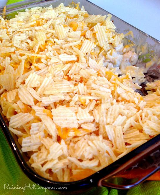 Potato Chip Casserole  Chicken and Chip Casserole Recipe