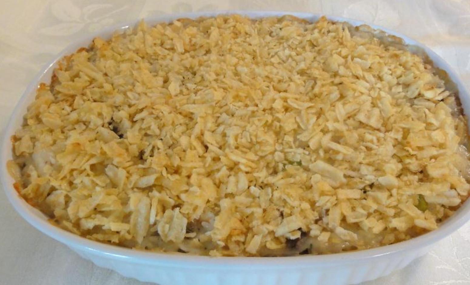 Potato Chip Casserole  Potato Chip Chicken Casserole Recipe