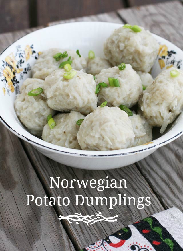 Potato Dumpling Recipe  Norwegian Potato Dumplings Klub – Cheap Recipe Blog
