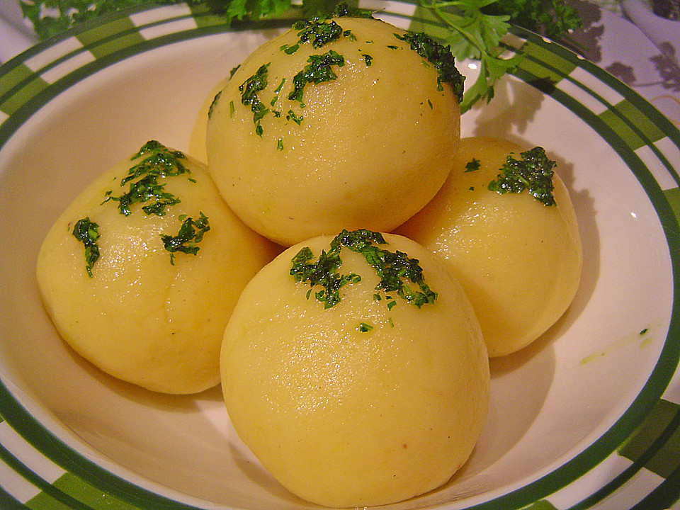 Potato Dumpling Recipe  potato dumplings recipe german