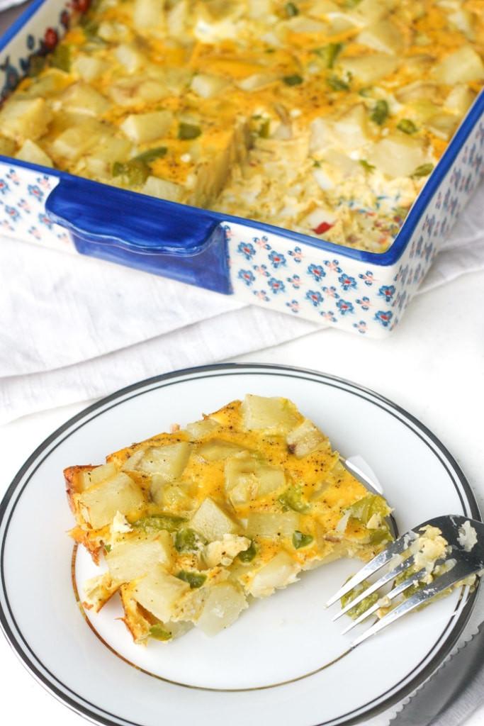 Potato Egg Casserole  egg and potato breakfast recipes
