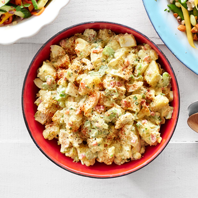 Potato Egg Salad  Deviled Egg Potato Salad
