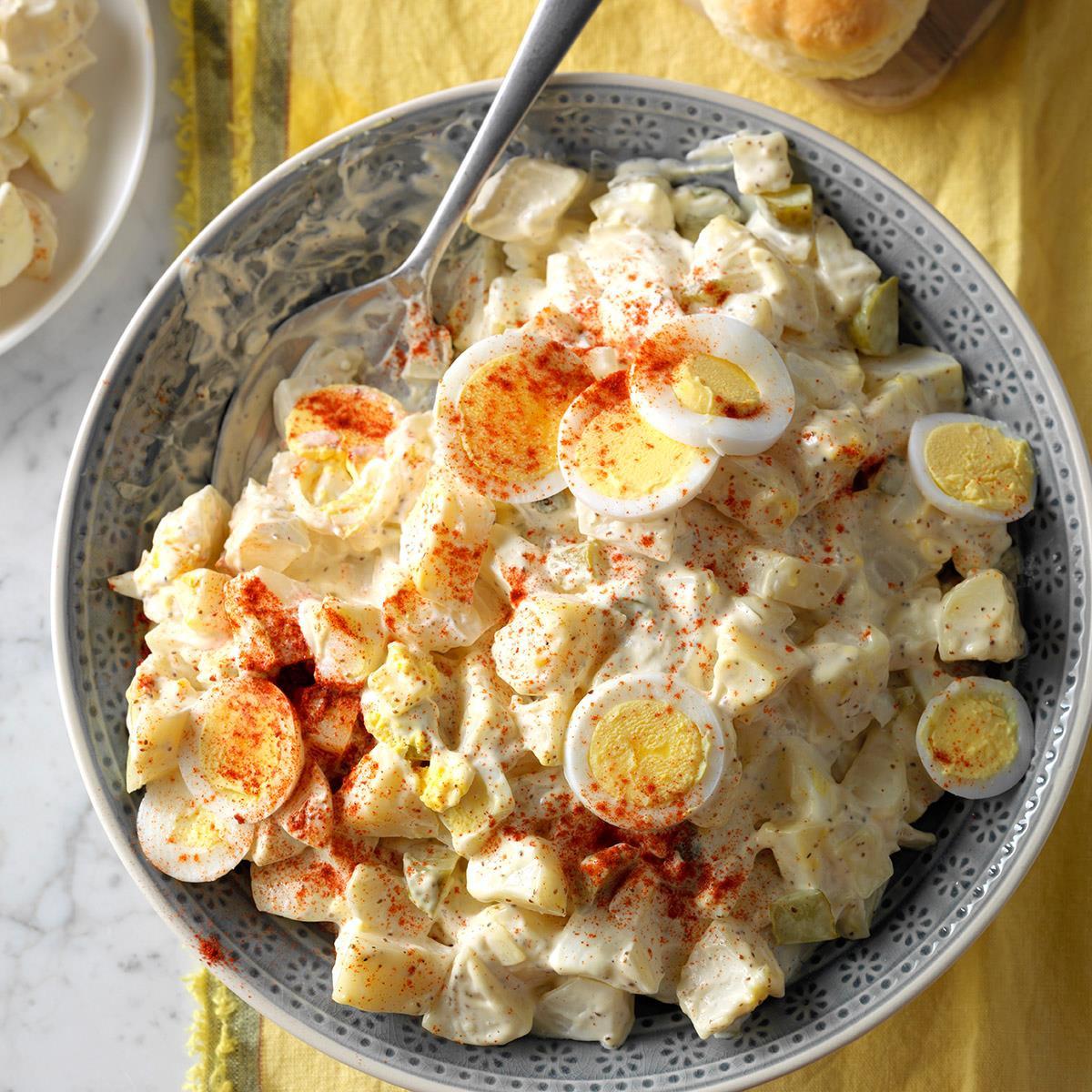 Potato Egg Salad  Dilly Potato & Egg Salad Recipe
