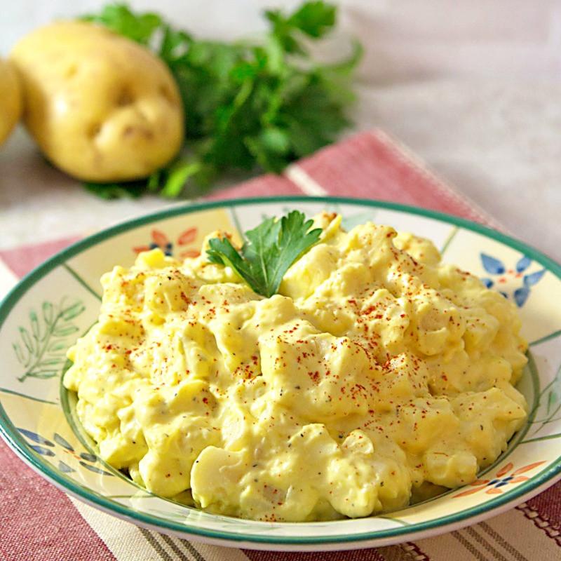 Potato Egg Salad  Southern Style Mustard Potato Salad ⋆ Its Yummi