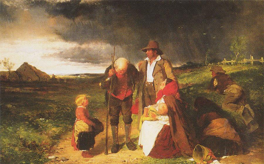 Potato Famine Ireland  Irish Famine Tragedy 150 years in the making
