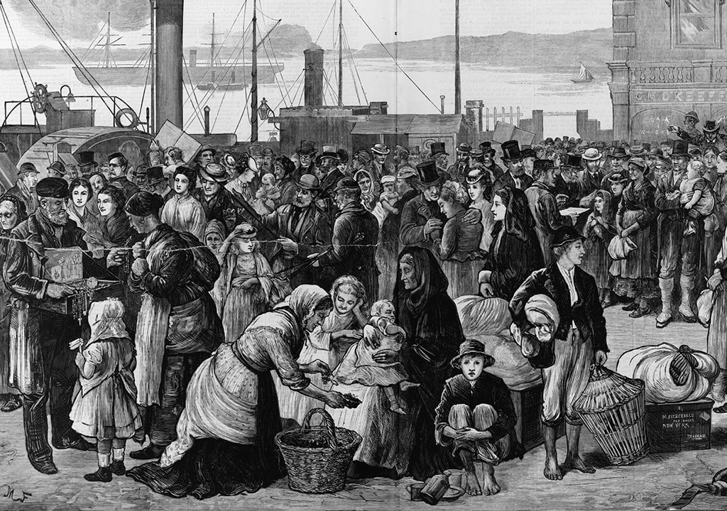Potato Famine Ireland  Bones found on Canadian beach likely from 'coffin ship