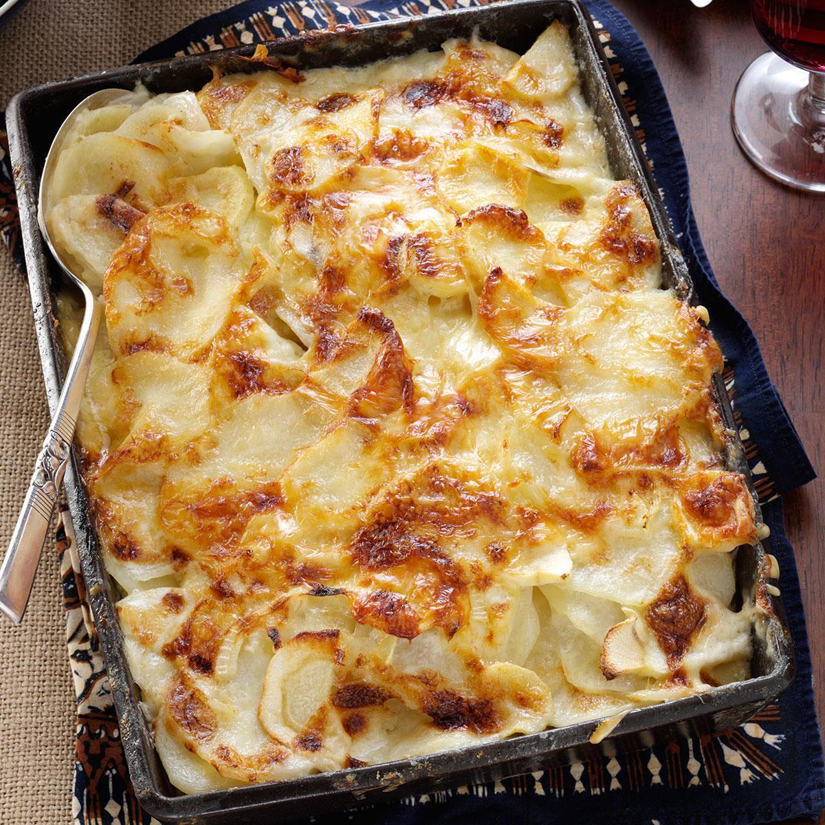 Potato Gratin Recipe  Parsnip Potato Gratin Recipe