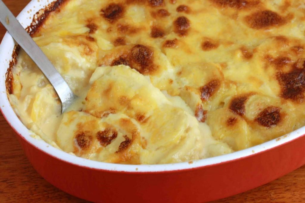 Potato Gratin Recipe  Perfectly Creamy Au Gratin Potatoes The Daring Gourmet