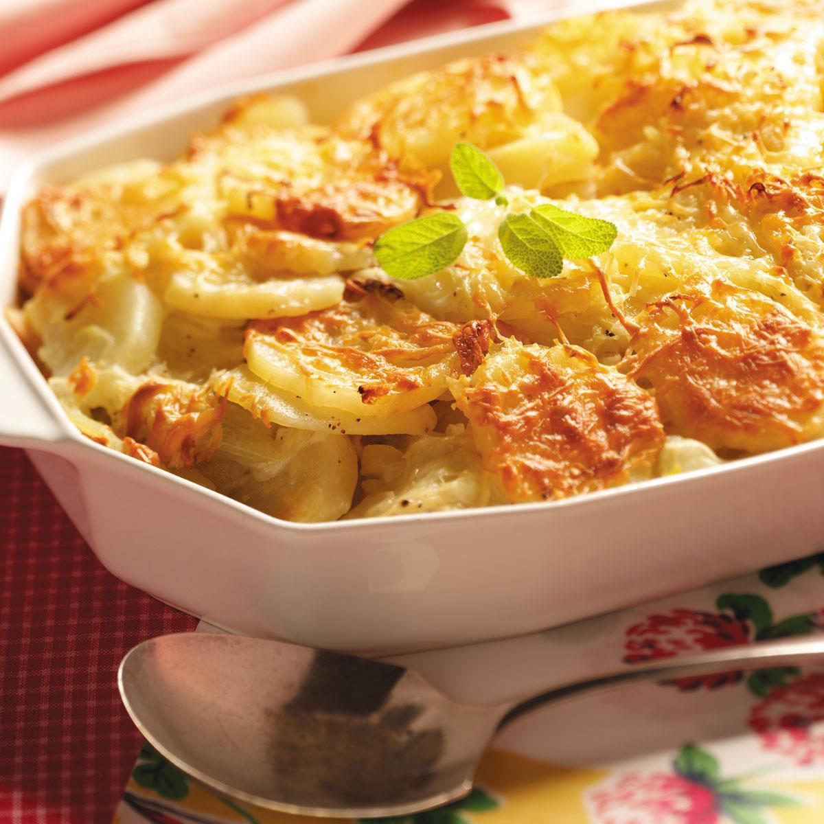 Potato Gratin Recipe  Fennel Potato Au Gratin Recipe