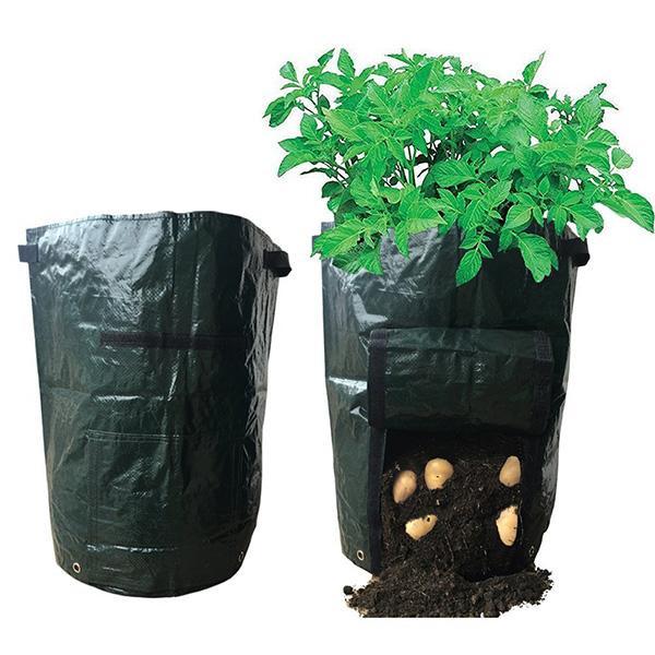 Potato Grow Bags  2017 Garden Potato Grow Bag Flowers Ve ables Planter Bag