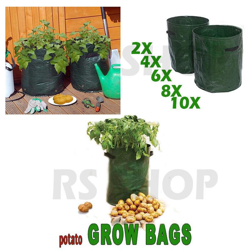 Potato Grow Bags  Potato Grow Bag Planter Potatoes Sack Spuds Tub Garden