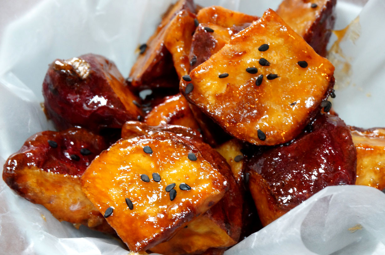 Potato In Japanese  Can d Sweet Potatoes – Daigaku Imo だいがく いも